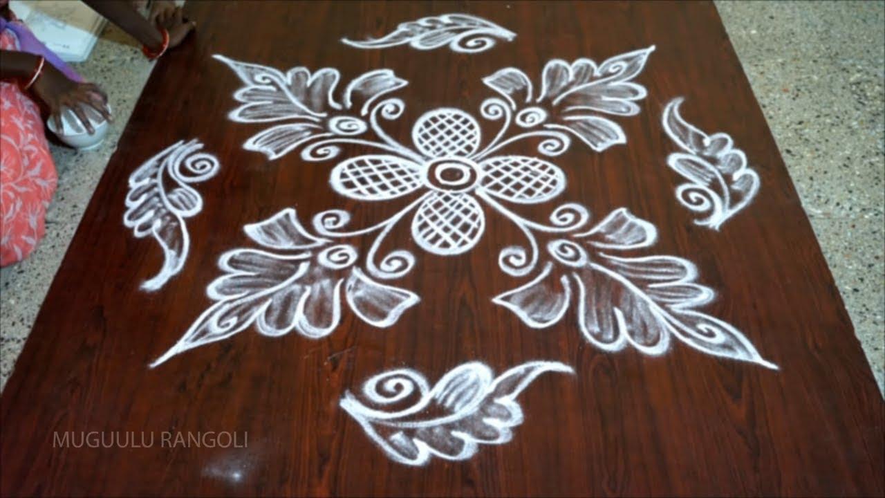 simple rangoli designs without dots simple kolam designs ...