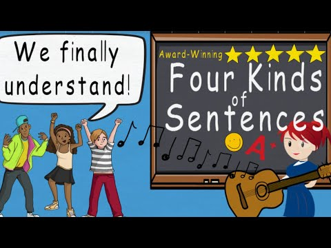 Four Kinds of Sentences Song by Melissa