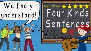 Four Kinds of Sentences Song, Four Types of Sentences by Melissa