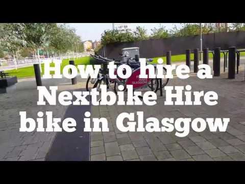 How to hire a Nextbike Hire bike in Glasgow