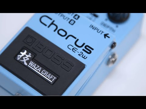 hqdefault - Boss CE-2W Waza Craft Chorus Pedal