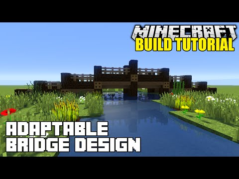 how to build a bridge in minecraft