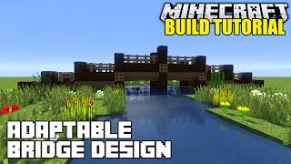 Minecraft: How To Build A Bridge Tutorial (Simple, Easy & Adaptable)