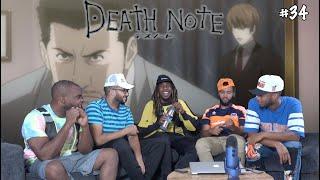 """Death Note Episode 34 """"Vigilance"""" REACTION/REVIEW"""