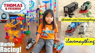 Thomas the Tank Engine and Friends Marble Racing Game Race Number 14! Elimination Game