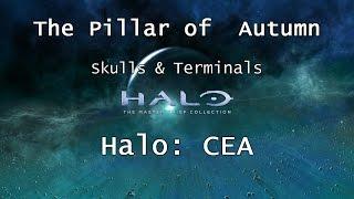 Halo: MCC [Halo: CEA] | Skulls & Terminals - Mission 1: The Pillar of Autumn | Collectibles