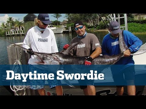Awesome Daytime Swordfishing in 1800 ft.