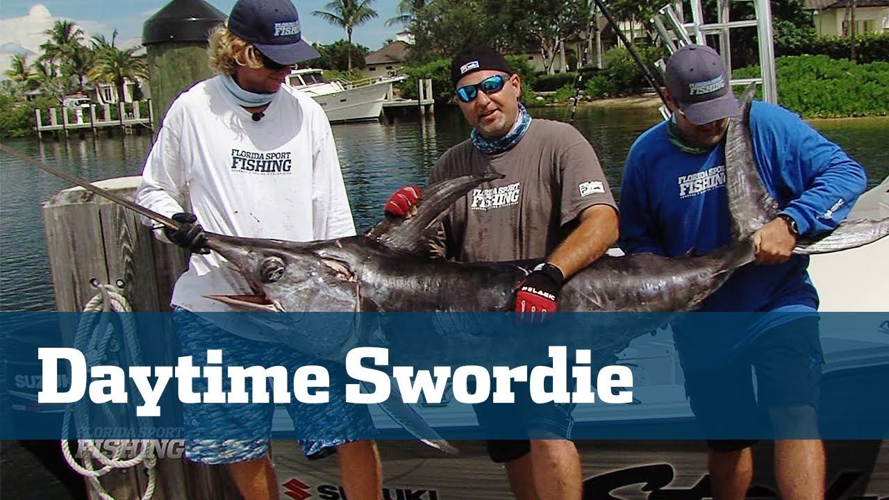 Awesome Daytime Swordfishing in 1800 ft. - Florida Sport Fishing TV