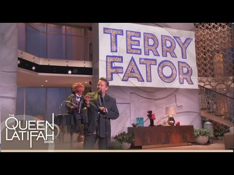 Terry Fator Sings With Julius | The Queen Latifah Show