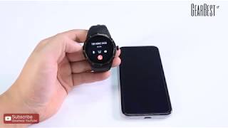 Android Smartwatc CACGO K98H Unboxing & Review