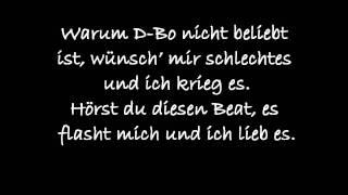Bushido feat. D-bo - Sieh in meine Augen (Lyrics)