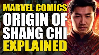 Marvel Comics: Origin of Shang Chi Explained | Comics Explained