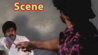 Brahmaji Murder Scene    Dharma Kshetram Telugu Movie     Balakrishna