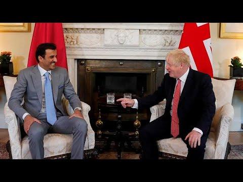 رئيس الحكومة البريطانية وأمير قطر يناقشان في لندن الهجمات على -أرامكو- السعودية…  - نشر قبل 3 ساعة