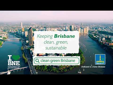 Brisbane. Clean, green, sustainable video