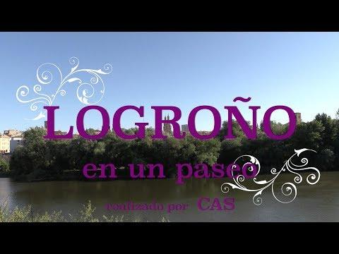 LOGROÑO EN UN PASEO de CAS ( VISiTAR , QUE VER, CALLE LAUREL, TURISMO)