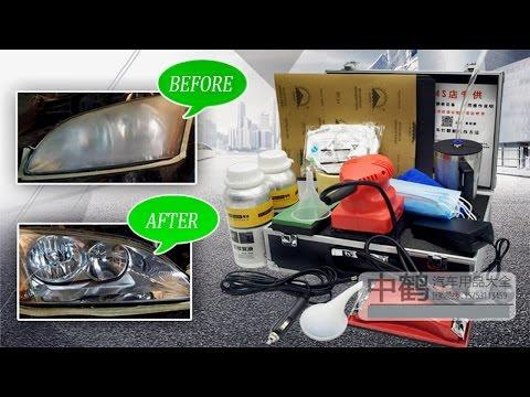 Professional Kit for the Restoration of Plastic Headlights