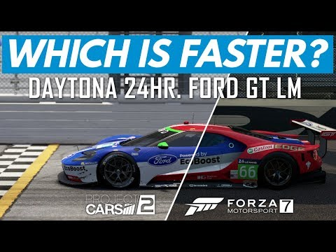 Which Game Is Faster? Forza 7 vs Project CARS 2
