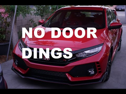 2019 Honda Civic Type R Body Side Moulding Install