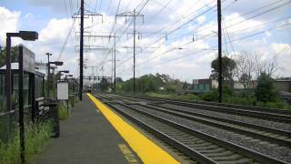 Railfanning At Jersey Avenue 8-10-11 (With Hornshows)