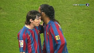 When 17 Year Old Lionel Messi TOYED with €1 Billion+ Real Madrid Team [HD]