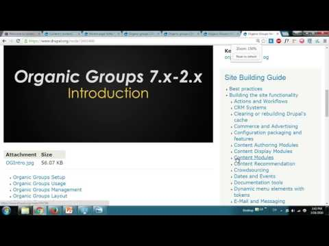 Beginner's Guide to Organic Groups