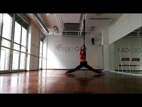 Presentazione Bungee Lyrical Dance - Milano -