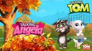 My Talking Angela Great Makeover My Talking Tom Episode Full Game for Kids HD