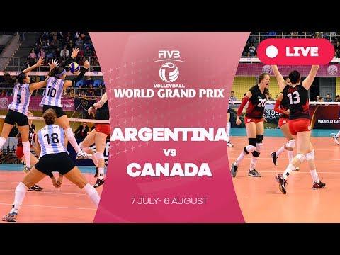 Argentina v Canada - Group 2: 2017 FIVB Volleyball World Grand Prix