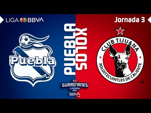 Puebla Club Tijuana Goals And Highlights