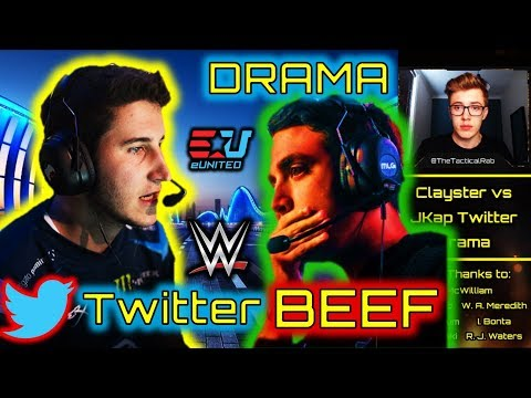 """""""HORRIBLE Teammate""""   JKap vs Clayster Twitter BEEF!   EUnited Rostermania Rumours   BO4 Competitive"""