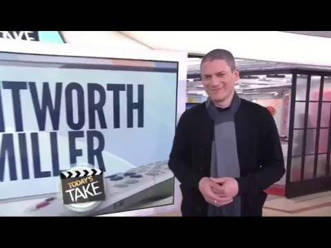 Wentworth Miller   NBC Today   21.01.2016