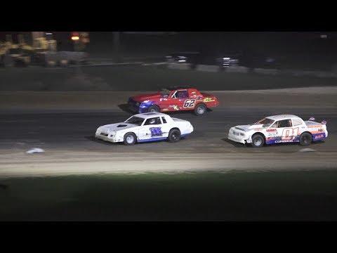 Street Stock Feature at Crystal Motor Speedway, Michigan on 08-24-2019!