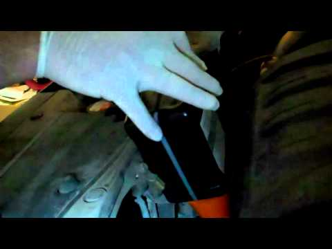 2007 Honda Pilot oil change Pt. 2
