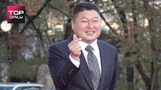 강호동ㅣ2020 대중문화예술상 레드카펫 201028 -…