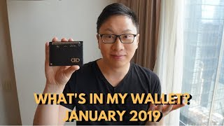 What's In My Wallet? January 2019 Edition