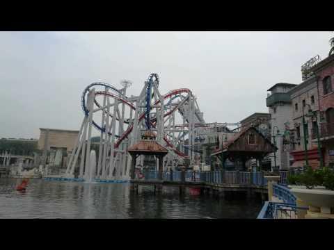 Roller Coaster Human Battlestar Galactica at Universal Studios Singapore