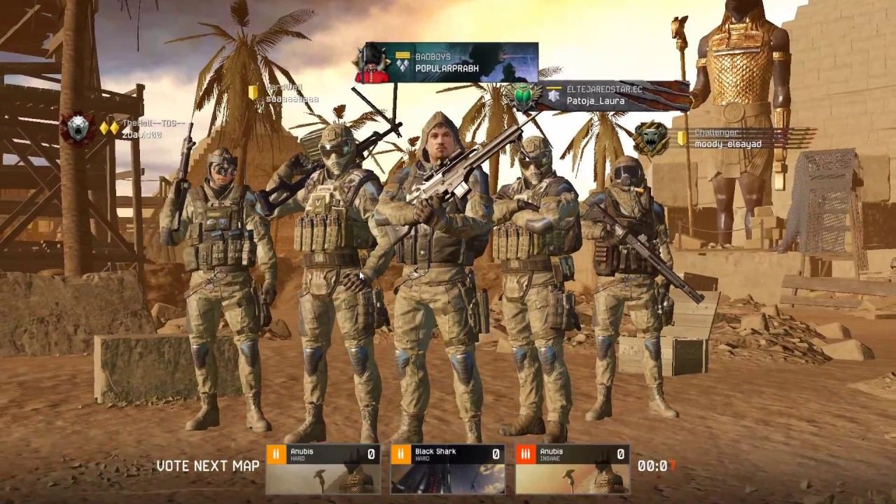 Warface glitch to win anubis at end