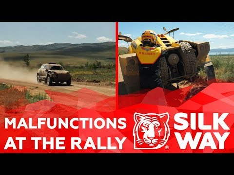 MALFUNCTIONS AT THE RALLY: SILK WAY RALLY -  | Silk Way Rally 2019🌏
