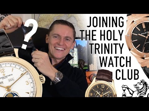 Patek, AP or VC? - Unboxing My First Holy Trinity Luxury Watch & My 2018 Collecting Goals