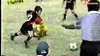 Very young messi magic