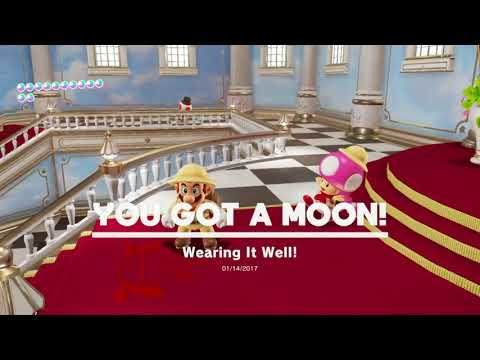 Unskippable cutscenes, brought to you by: Mario Odyssey