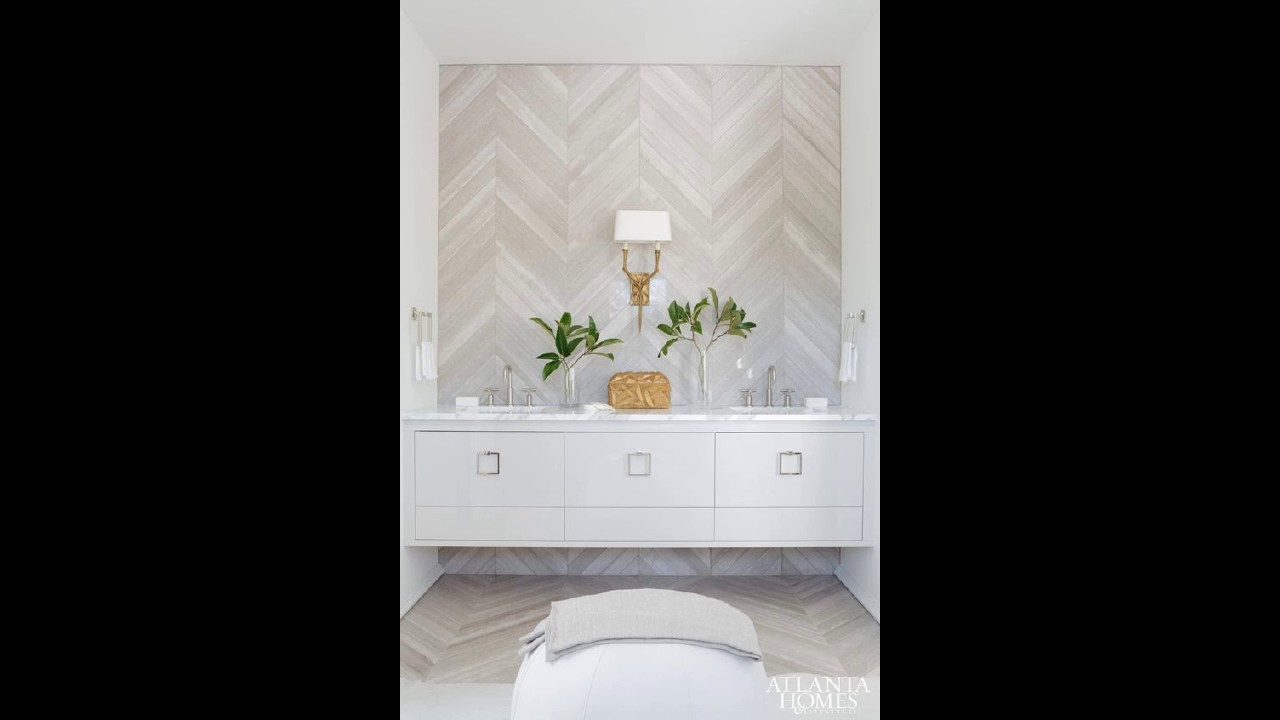 16 Attractive Ideas For Bathroom With Accent Wall - YouTube