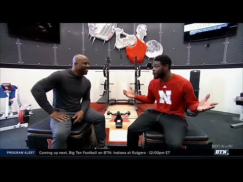 Loungin' with Howard: Stanley Morgan Jr.   Nebraska   Big Ten Football   BTN Tailgate