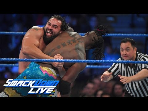 The New Day vs. Rusev & Aiden English: SmackDown LIVE, Dec. 5, 2017
