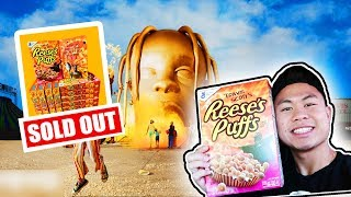 Surprising 2HYPE with Limited Edition TRAVIS SCOTT CEREAL! SOLD OUT EVERYWHERE!