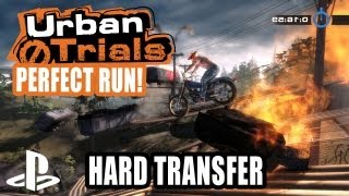 Urban Trial Freestyle PS3 Gameplay - Perfect Run (Hard Transfer)