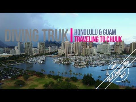 Traveling to Truk Lagoon! Honolulu and Guam with a Mavic Pro!