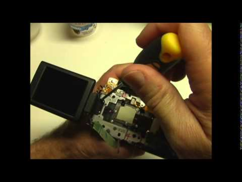 Canon PowerShot SX50 Disassembly, Clean Lens, Reassembly; Stuck Lens; Repair