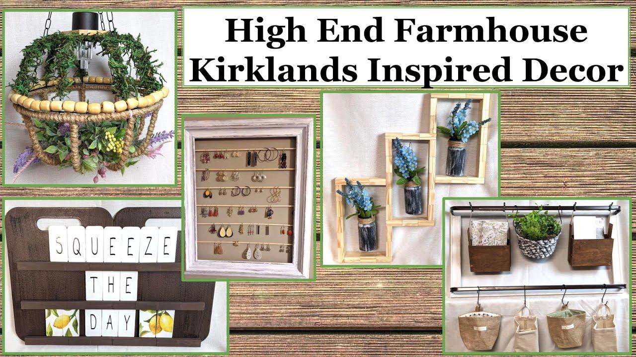 Download HIGH END FARMHOUSE DECOR Kirklands Inspired | DOLLAR TREE DIY | Creative Champion Friend Hop Week 2